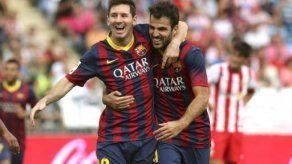 Fábregas: La ausencia de Messi es un examen para el equipo