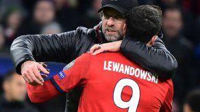 Lewandowski agradece a Klopp que haya hecho de él un gran goleador