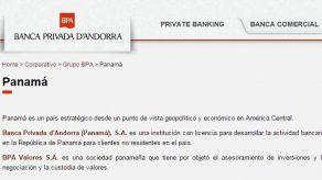 Superintendencia extiende reorganización de Banca Privada D'Andorra
