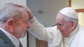 Papa recibió al expresidente brasileño Lula en el Vaticano