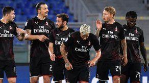 Lazio pierde 3-0 con el AC Milan y deja vía libre a la Juventus