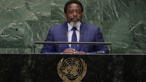 Miles marchan en apoyo a la coalición gobernante de Congo