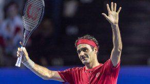 Federer arrasa a Albot y avanza a cuartos en Basilea