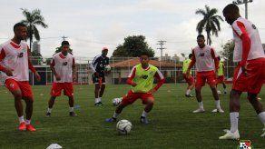Selección entrenó con jugadores no titulares tras el empate ante País Vasco