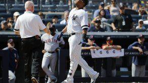 Yankees: Encarnación sufre fractura de muñeca derecha