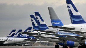 Finnair despide más de 10% de su nómina por impacto COVID