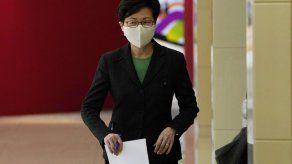Funcionario chino elogia a Lam por estabilizar Hong Kong