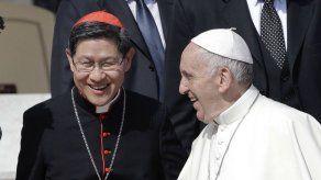 Cardenal filipino que es asistente papal tiene coronavirus