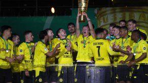 Dortmund aplasta a Leipzig y se corona en Copa de Alemania