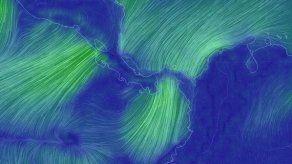 Fuertes vientos se mantienen en Panamá