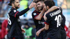 Milan golea 4-0 a Spal en la Serie A
