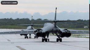 Bombarderos de EEUU realizan nuevas maniobras en la península coreana