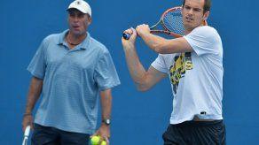 Británico Andy Murray rompe con su entrenador Ivan Lendl