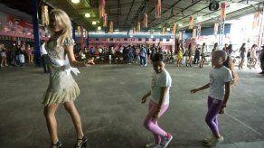 Candidatas al Miss Universo bailaron samba