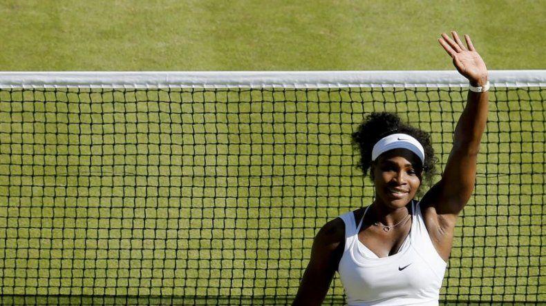 Serena Williams elimina a Sharapova en semifinales de Wimbledon