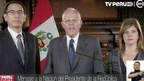 Kuczynski afirma que Perú afronta un golpe de Estado disfrazado