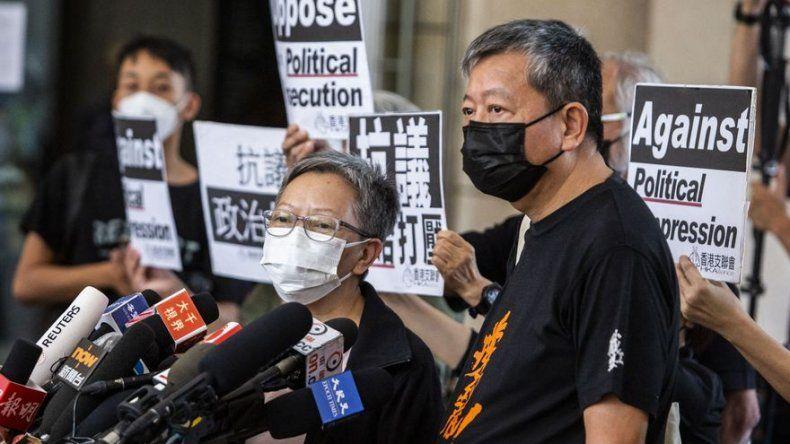 Nueve activistas prodemocracia de Hong Kong, declarados culpables por manifestación de 2019