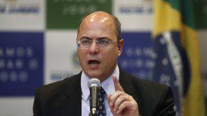 El gobernador de Río de Janeiro, el conservador Wilson Witzel.