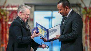 El primer ministro de Etiopía recibe el Nobel de la Paz