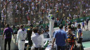 Massa se despide de aficionados brasileños en Interlagos