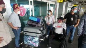 Menor afectado por explosión en Montelimar retorna a Panamá tras ser atendido en EEUU