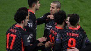 Dos errores defensivos condenan al Leipzig frente al Liverpool
