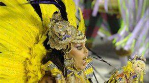 Escuela Unidos da Tijuca gana tercer título en carnaval carioca