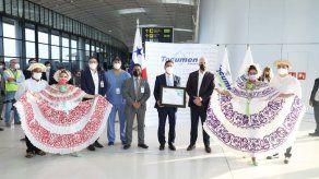 Aeropuerto de Tocumen recibe certificación de bioseguridad por cumplir con medidas sanitarias