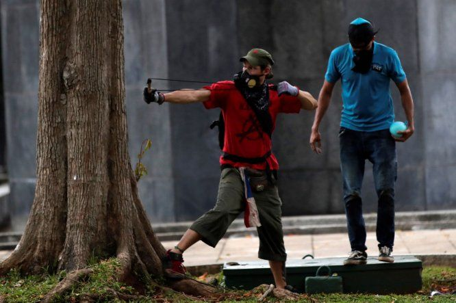 Diversas agrupaciones protestan en Panamá contra proyecto de reformas constitucionales