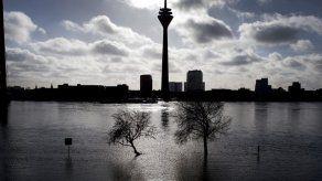 Nieve derretida y lluvias provocan inundaciones en Alemania