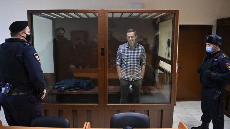 El Tribunal de Moscú rechaza la apelación a la pena de prisión contra Navalni