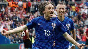 Modric es nombrado primer capitán de Croacia y Rakitic será su segundo