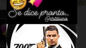 Georgina Rodríguez celebra los 700 goles de Cristiano convirtiéndole en su James Bond particular