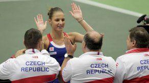 República Checa doblega 3-1 a España en Copa Federación