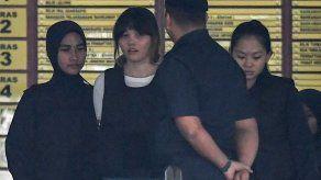Acusadas por la muerte del medio hermano de Kim Jong-Un se declaran no culpables