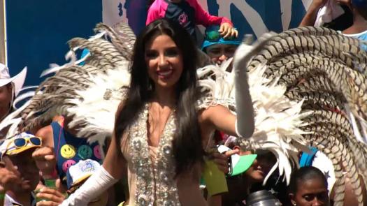 Thalia Villalaz podría ser la reina de Punta Fogón Unido 2019