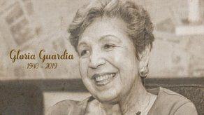 Fallece la periodista y escritora panameña Gloria Guardia