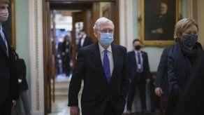 Schumer: Pelosi envía acusación a Trump a Senado el lunes