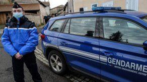Muere el presunto asesino de tres policías en Francia