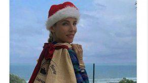 Elsa Pataky: nueva ayudante de Papá Noel