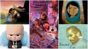 Conoce las películas animadas nominadas a los Premios Oscar 2018