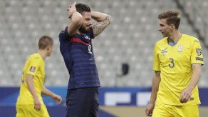 Eliminatorias UEFA: Francia empata
