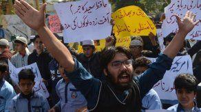 Protestas en Pakistán tras arresto de un sospechoso de los atentados de Bombay