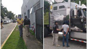 Autoridades detienen a 6 personas vinculadas al tráfico de droga a través de contenedores