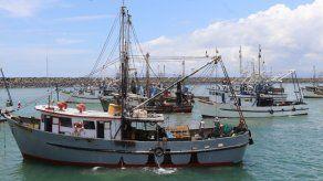 Más de 130 embarcaciones zarparon hacia el mar tras culminar el primer periodo de veda de camarón.