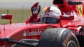 Vettel: No estoy contento con la diferencia que nos saca Mercedes