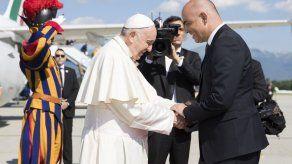 Papa llega a Ginebra y visita el Consejo Mundial de Iglesias