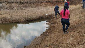 Fiscalía de Veraguas toma muestras en el río Santa María por delito ambiental