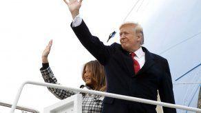 Trump a París para ceremonia de I Guerra Mundial