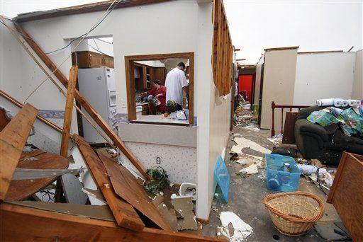 Ocho muertos en EU por tormentas e inundaciones